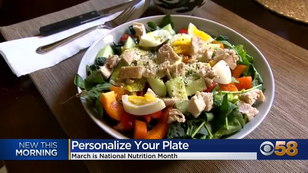 National Nutrition Month: Personalize your plate